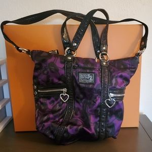 Coach purse 💜🖤
